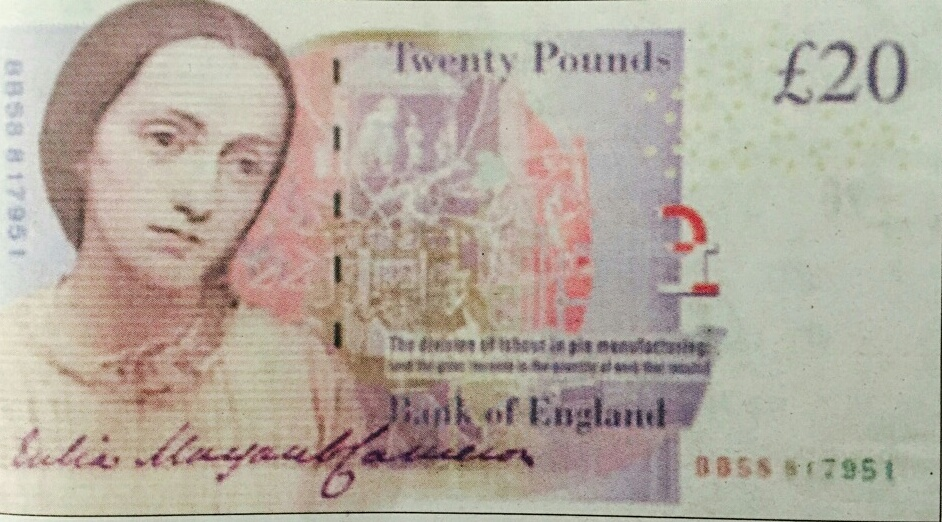 Julia Margaret Cameron £20 note